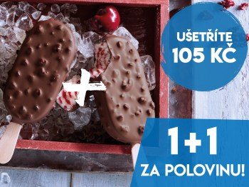 1+1 za polovinu Big Choc Cherry