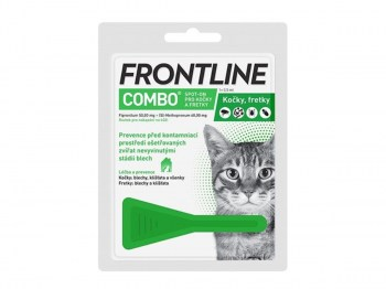 Fronline Combo spot-on cats a.u.v. sol 1x0,5 ml
